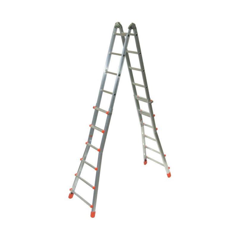 Briko plus escaleras telescopica y multiusos for Escalera multiusos