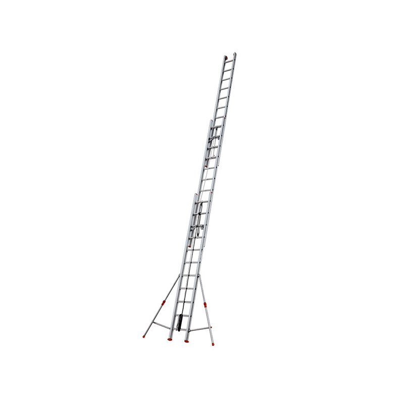 ROPE-OPERATED EXTENSION LADDER ROLLER - 3,53 m