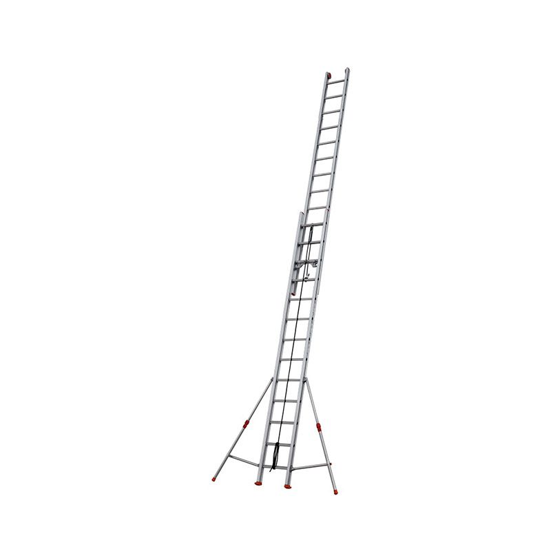 ROPE-OPERATED EXTENSION LADDER ROLLER - 4,13 m