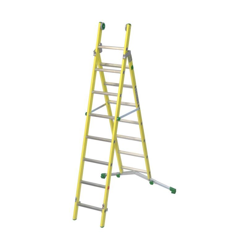 COMBINATION LADDER VETROPRIMA - 2,64 m