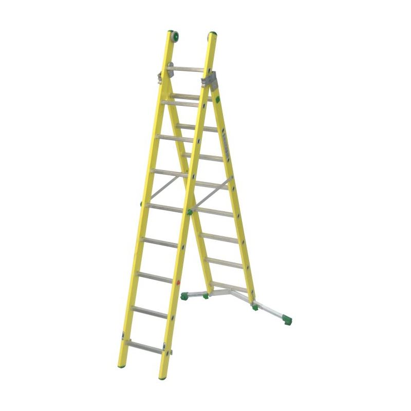 COMBINATION LADDER VETROPRIMA - 2,94 m