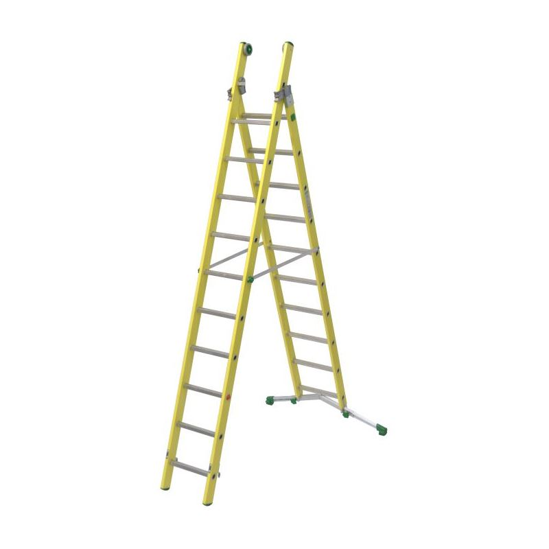 COMBINATION LADDER VETROPRIMA - 3,54 m