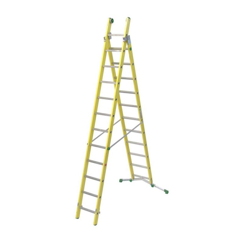 COMBINATION LADDER VETROPRIMA - 3,84 m