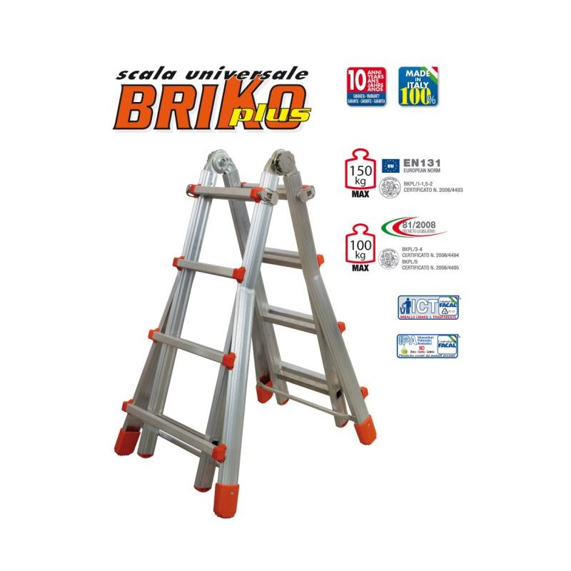TELESCOPIC LADDER BRIKO PLUS
