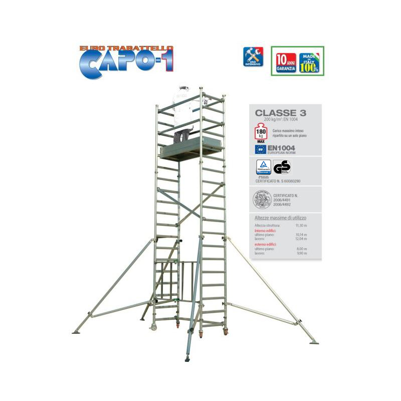 PROFESSIONAL SCAFFOLD TOWER CAPO 1