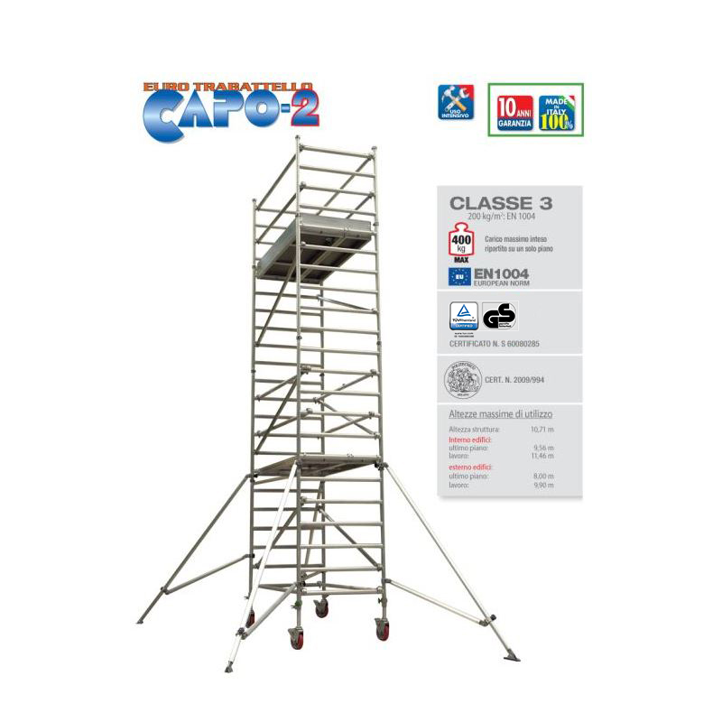 PROFESSIONAL SCAFFOLD TOWER CAPO 2