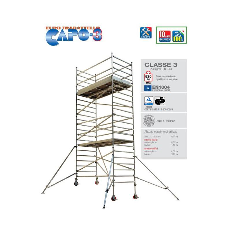 PROFESSIONAL SCAFFOLD TOWER CAPO-3