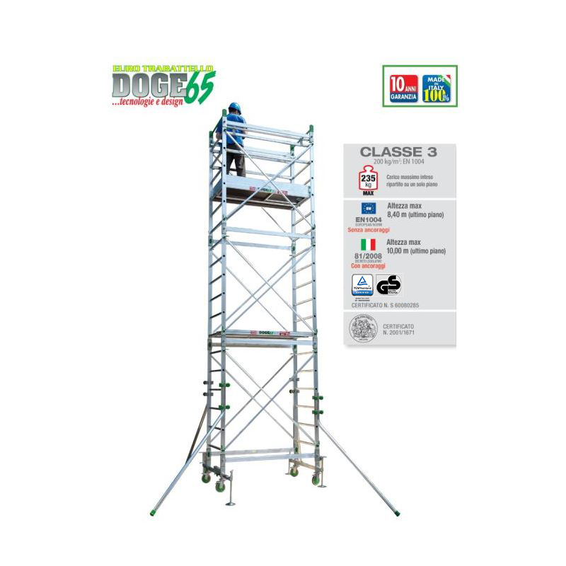PROFESSIONAL SCAFFOLD TOWER DOGE 65