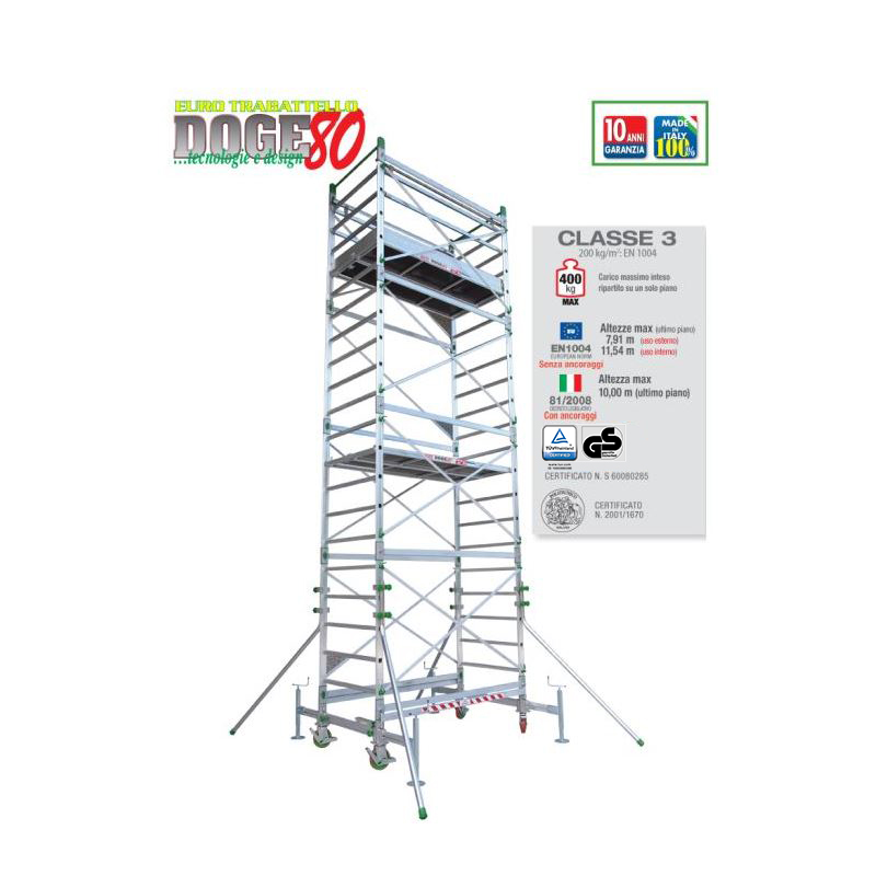 PROFESSIONAL SCAFFOLD TOWER DOGE 80