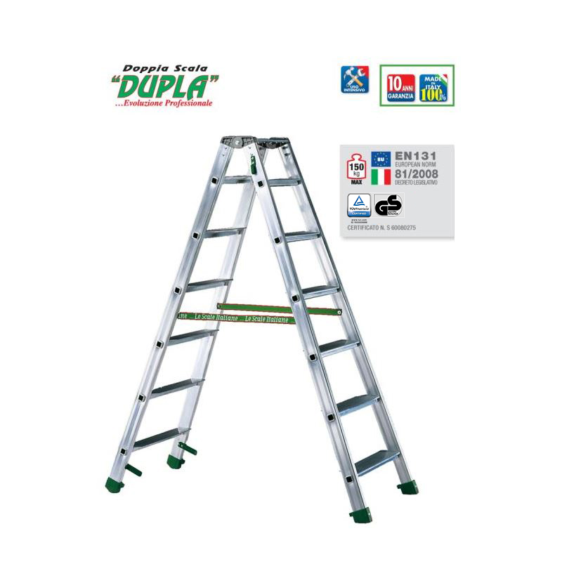 DOUBLE-SIDED STEPLADDER DUPLA