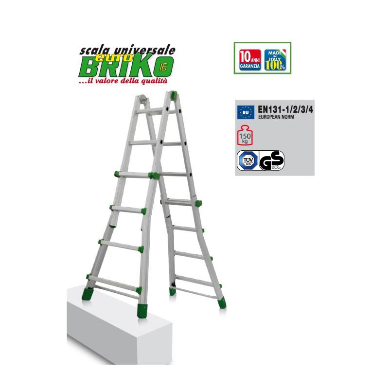 TELESCOPIC LADDER EUROBRIKO  16