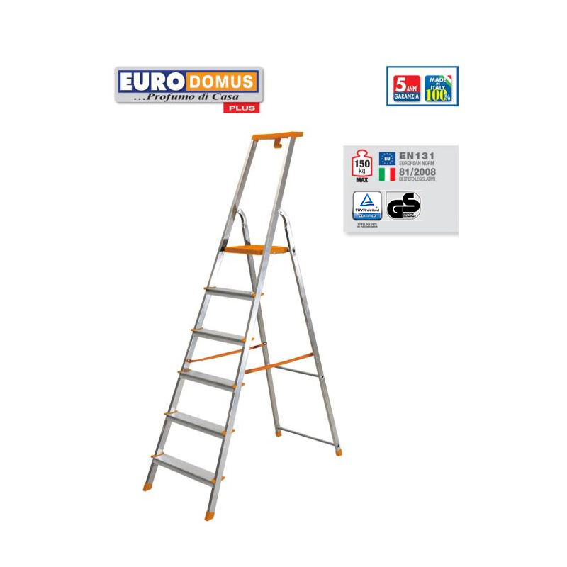 HOUSEHOLD STEPLADDER EURODUMUS PLUS