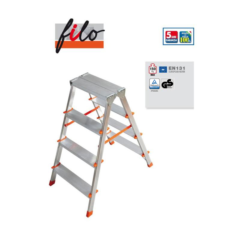 DOUBLE-SIDED STEPLADDER FILO
