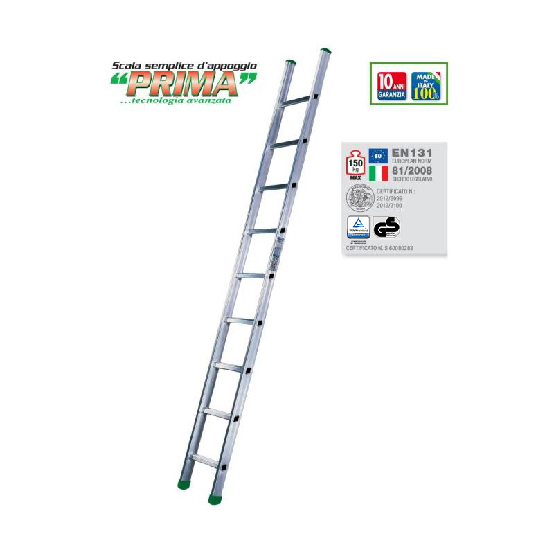 RUNG LEANING LADDER PRIMA S