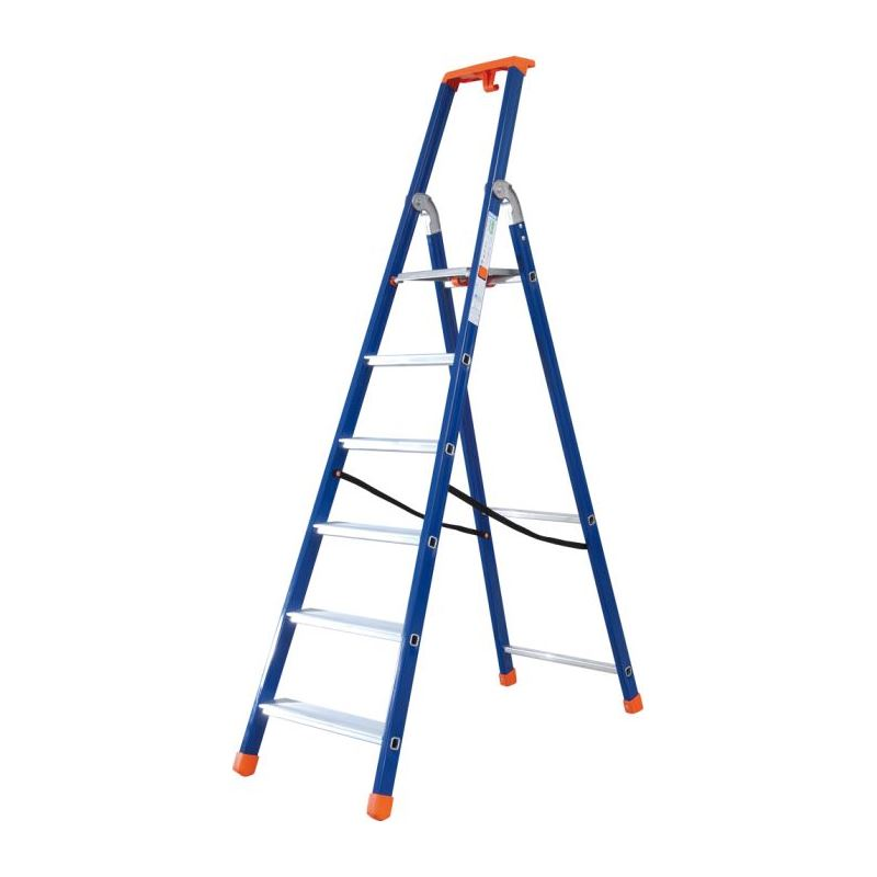 Stepladders and double-sided stepladders
