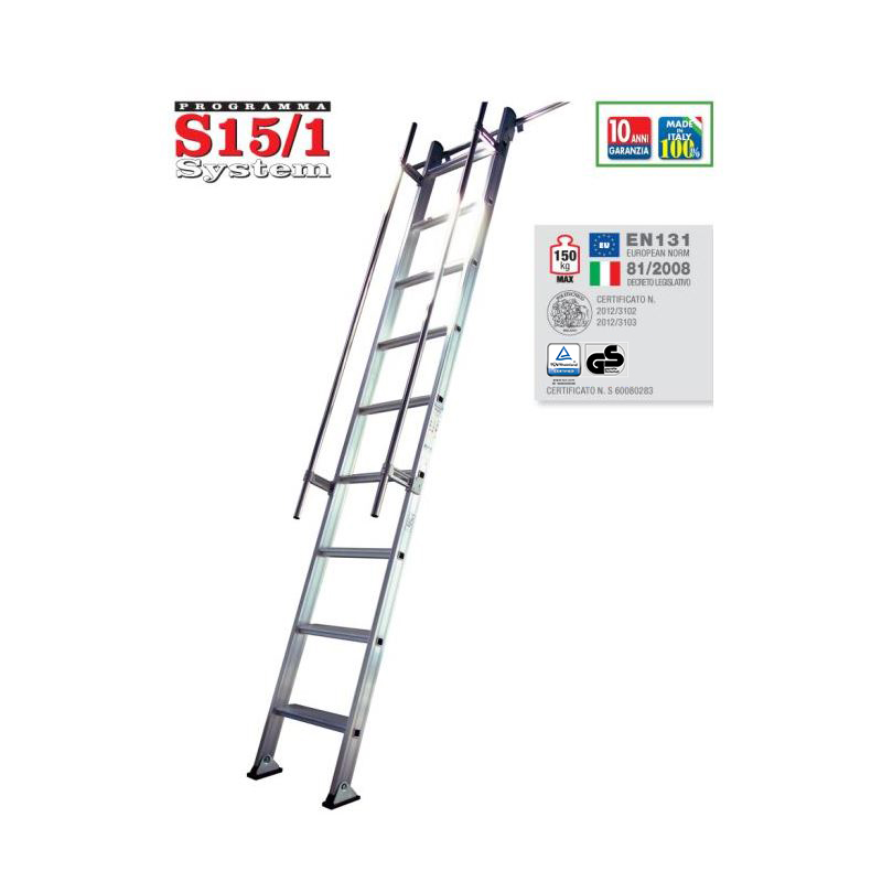 SHELF LADDER S15/1