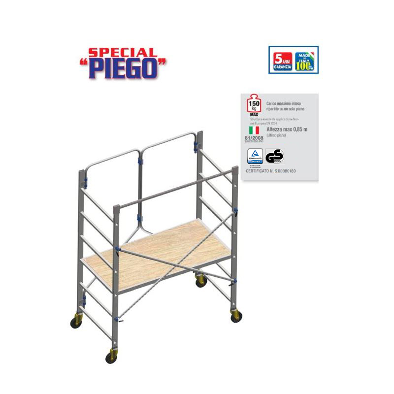 FOLDING DIY SCAFFOLD SPECIAL PIEGO