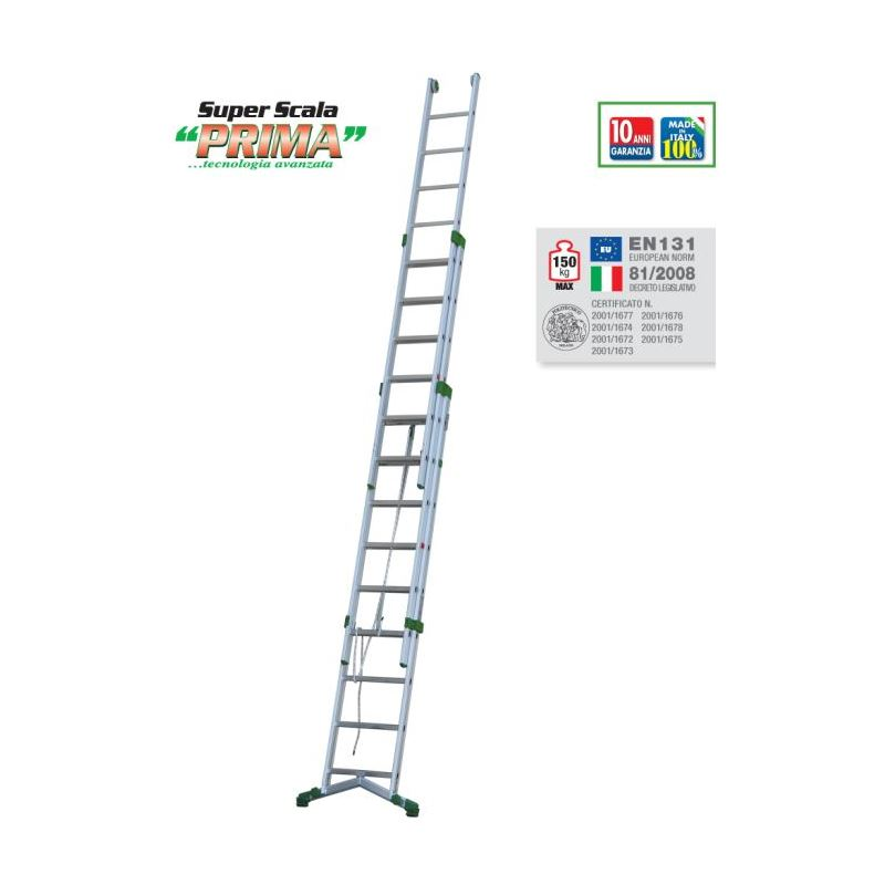 ROPE-OPERATED EXTENSION LADDER PRIMA