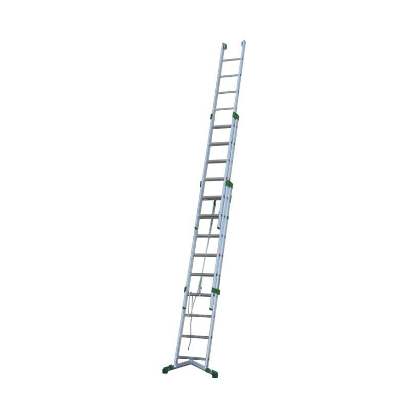 ROPE-OPERATED EXTENSION LADDER PRIMA - 4,24 m
