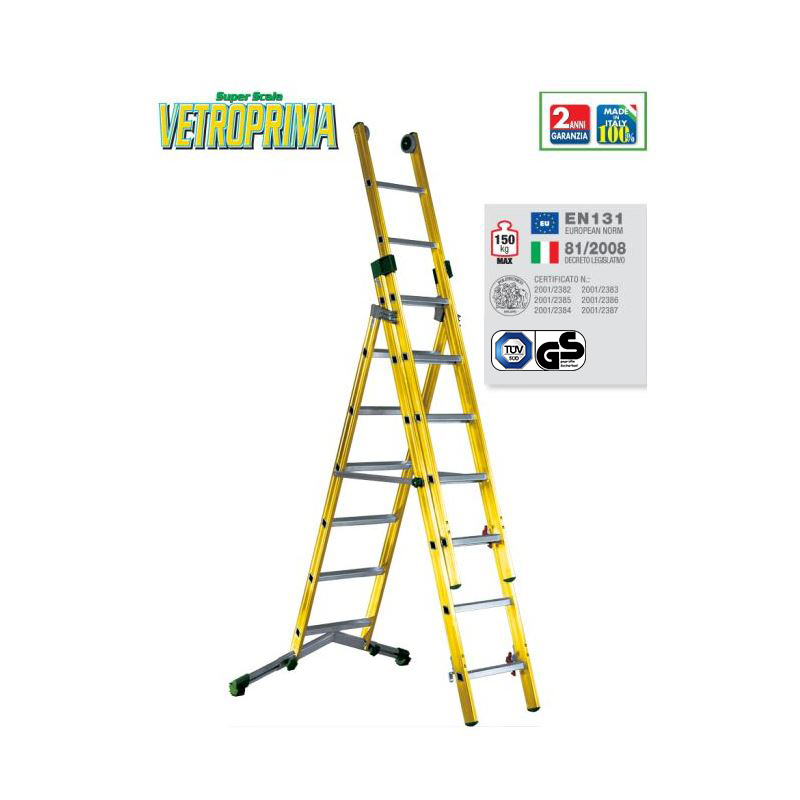 COMBINATION LADDER VETROPRIMA