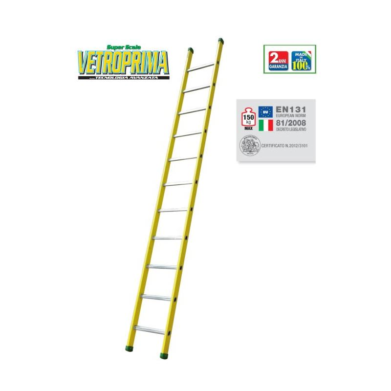 RUNG LEANING LADDER VETROPRIMA S